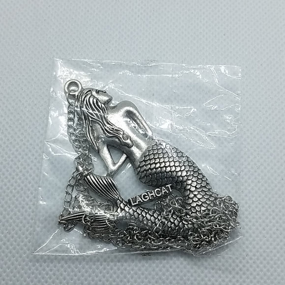 Laghcat Jewelry - NWT Laghcat Silver Mermaid Necklace